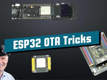 ESP32 OTA教程技巧(包括OTA调试)
