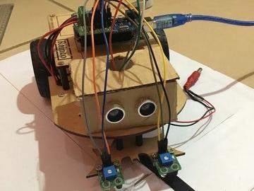 制作一个简单的直线跟随机器人
