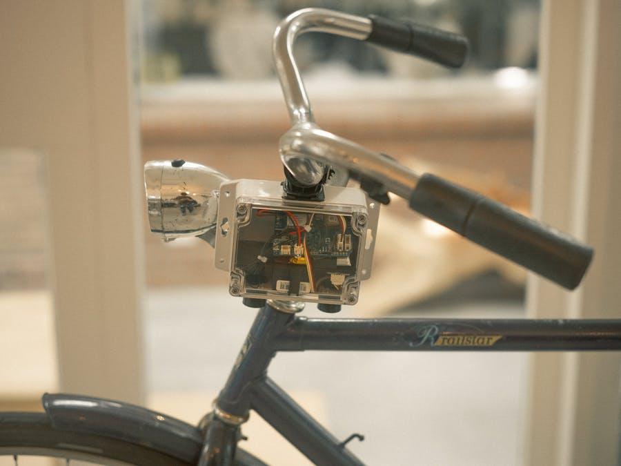 SODAQ NB-IoT便攜式空氣質量檢測儀,可以安裝在任何自行車