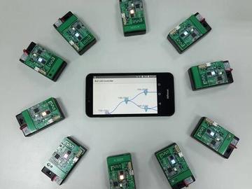 基于Toshiba TC35667的Scatternet BLE智慧灯光控制网络方案