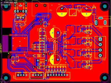 功放板电路设计方案(PCB和原理图已测试成功)
