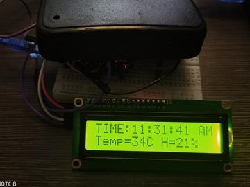 带有温湿度的Arduino时钟