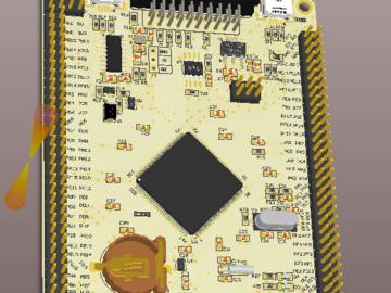 stm32F103ZET6 核心板
