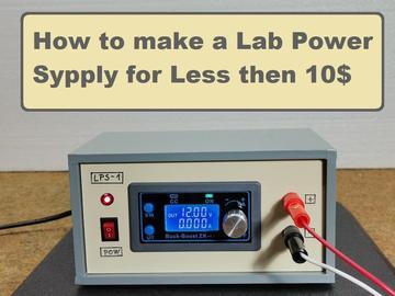 基于 ZK-4KX 的实验室电源制作