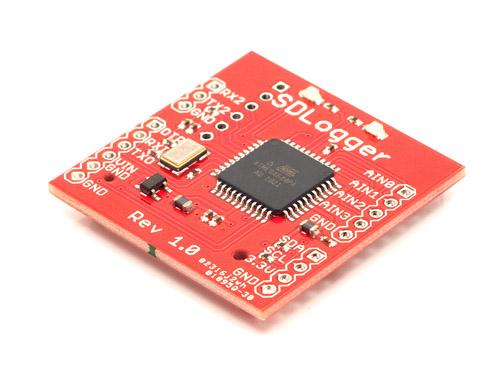 SDLogger-串行数据记录器开源硬件/Arduino代码等