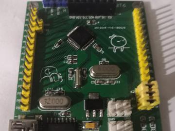 基于STM32L051测试板完整电路方案设计 (原理图 +pcb +测试代码)