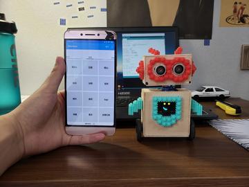超迷你自平衡机器人woodbox(源码+原理图+app+教程)