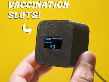 基于ESP32的疫苗接种槽通知器