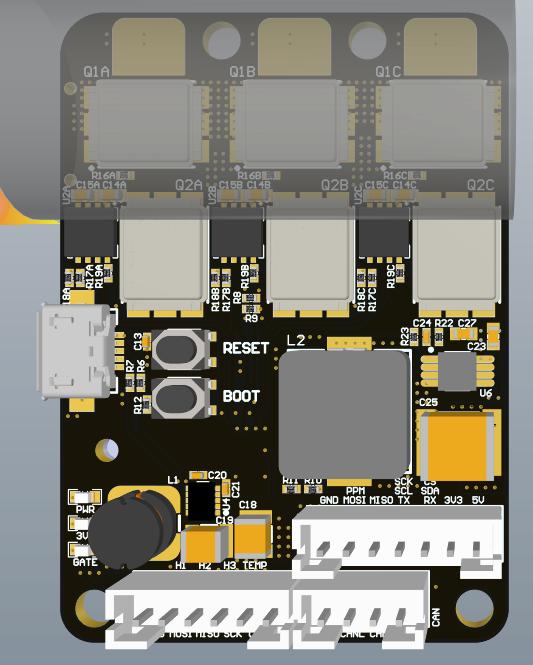 【三相直流無刷電機】基于STM32F405RGT6的直流無刷電機控制器