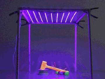 电子美少女教你轻松制作可折叠紫外线LED灯