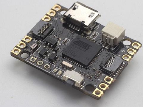 WS2812 LED照明控制系统板电路图/PCB/源码