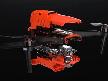 8K无人机诞生:支持障碍规避和抵抗8级风速