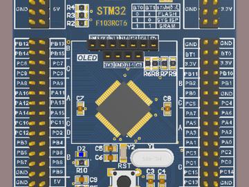 基于STM32的核心板开发(含原理图+电路板文件)