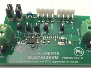 基于bq27542-G1的单节锂离子电池组端电量监测电路设计