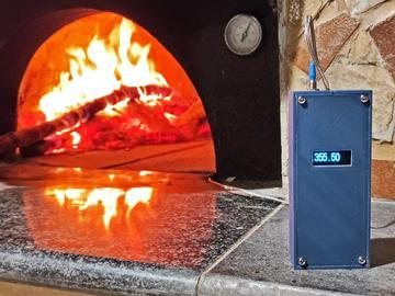 基于 DiGiSpark 的手持式热电偶温度计
