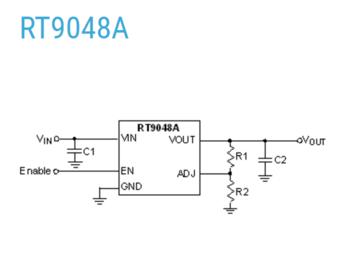 RT9048A:一款具有特别设计的 1.5A 线性稳压器