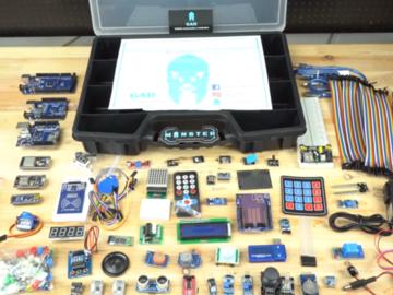 功能多到眼花缭乱,Arduino的怪兽级开发套件1套顶所有