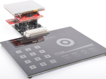 基于msp430和电容式触控技术的门禁控制面板电路设计