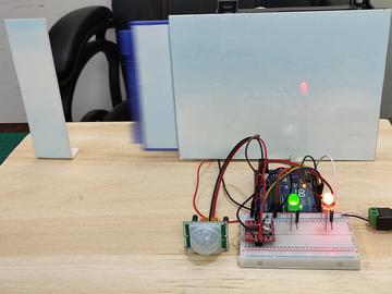 使用Arduino和PIR传感器制作自动开门系统
