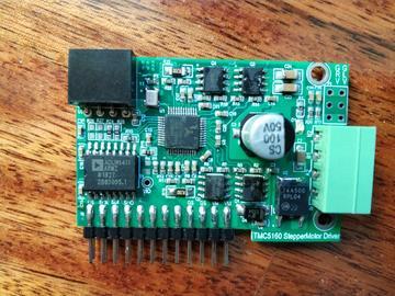 TMC5160-TA高性能隔离步进电机驱动模块设计方案