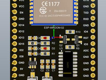 ESP-WROOM-02核心板方案