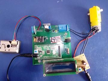 基于STM32单片机的婴儿床设计--DHT11-PM2.5-WIFI--(电路图+程序源码)