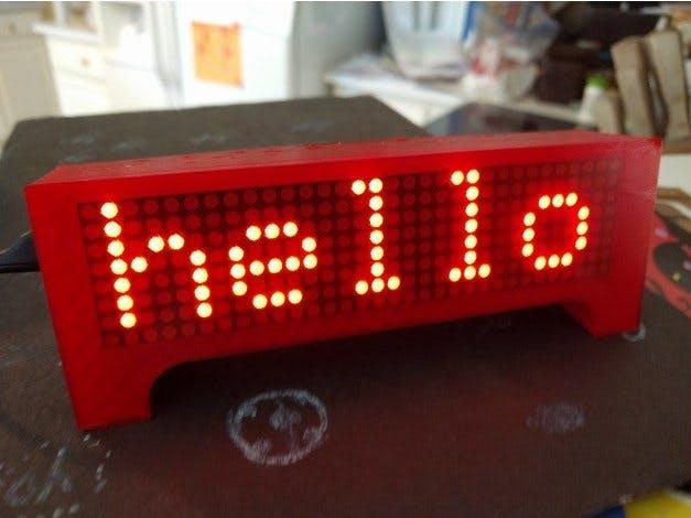 ESP8266 Wemos時鐘滾動顯示天氣新聞等