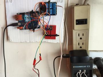基于Arduino open HAB的车库门控制器
