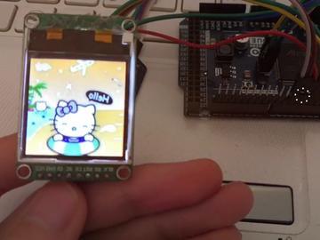 Arduino驱动TFT显示SD卡的图片