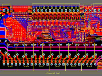 基于STM32设计的工业自动化16入12出控制板电路(原理图+pcb)