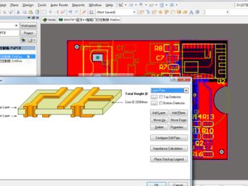 蓝牙4.0 MS47SF1模块 无线智能门灯DD311驱动控制板AD版原理图+PCB+BOM文件