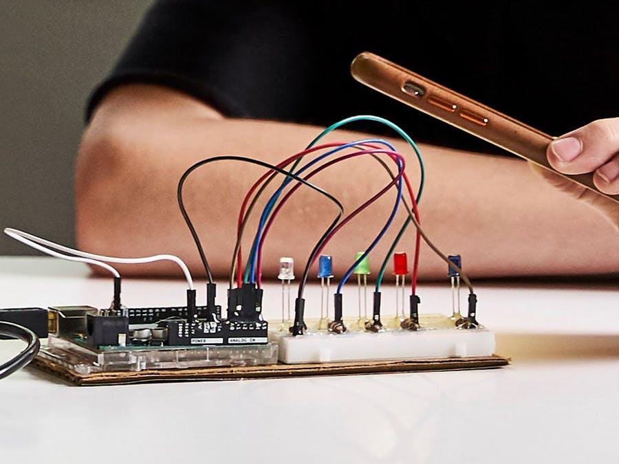 DIY光譜儀,查看不同類型的光波長