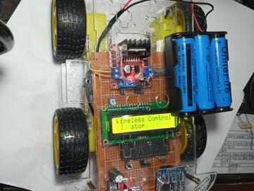 51单片机STC89C52语音识别控制智能车远程声音控制电路方案