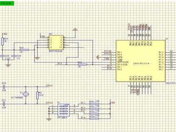 基于C8051F310的机器人主控系统电路设计
