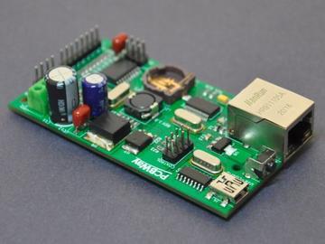 基于NTP的数字时钟面板驱动器