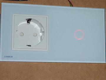 Livolo晶体的无线触摸开关中继模型电路设计(电路图+源码+bom表)
