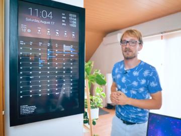 制作数字仪表板, Google日历集成