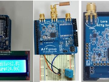 基于Semtech LoRa and DHT 11长距离温度湿度监控方案