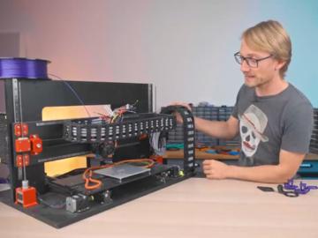 一台可以使用任何组件的3D打印机-零件测试的终极机器