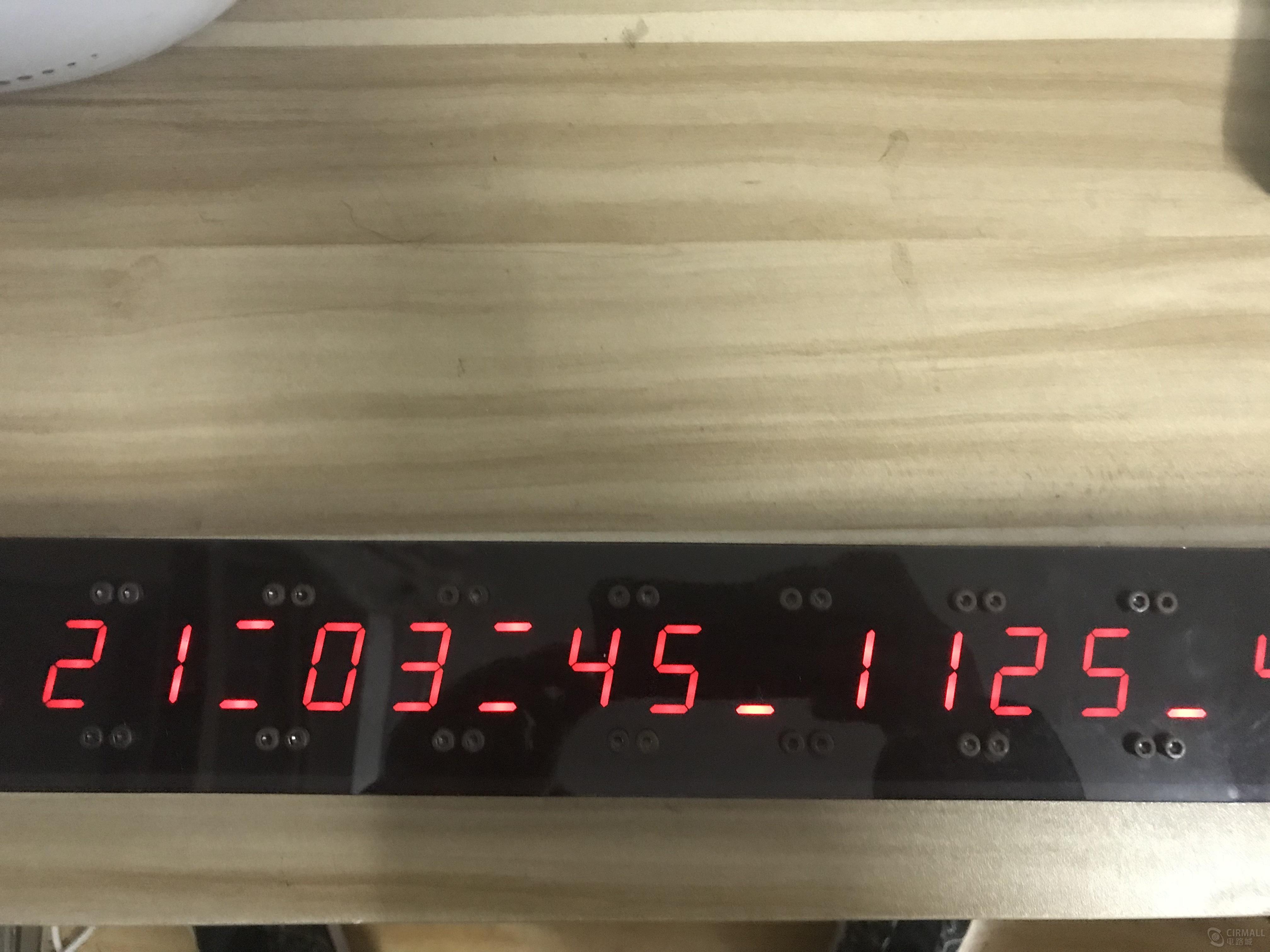 GPS时钟+DS3231时钟芯片(NRF2401+DHT11+红外调时+STH10)