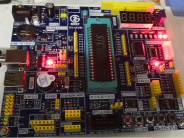 STC89C52RC51单片机学习资料(原理图+例程+教学文档)