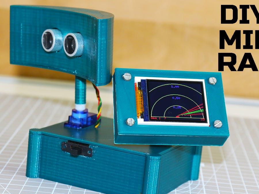 基于Arduino制作的迷你雷達