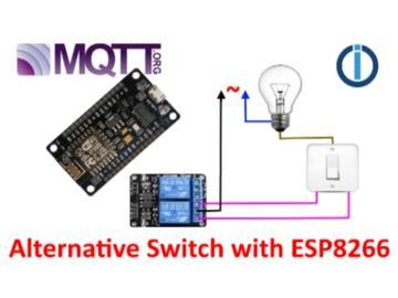带有ESP8266,ioBroker和MQTT的智能替代开关