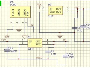 基于LM1117的机器人电源电路设计