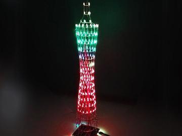 最美电路方案,8个LED作品集带你花式秀技能