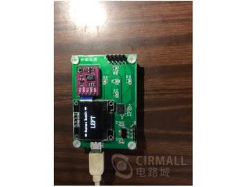 基于STM32的PAJ7620手势识别控制板