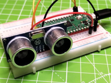 如何在Raspberry Pi Pico中使用超声波传感器