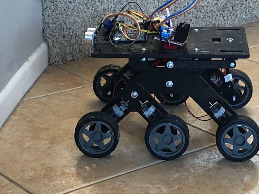 Arduino打造多功能自動漫游車