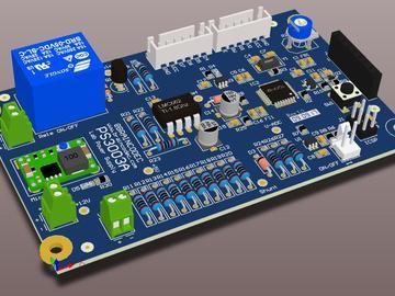 基于AD590和AD22100组合的智能温度计电路设计