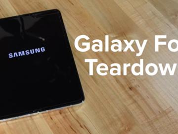 三星全新折叠手机Z Fold 2拆解,升级不止一点点